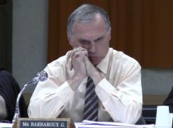 Guy Barbaroux, adjoint délégué aux finances