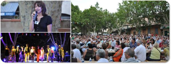 Diaporama « A Marseille, un soir » - Auriol - 7 juillet 2012 - Véronique Miquelly