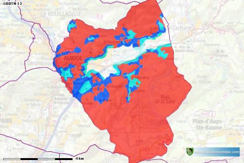 Plan de Prévention des Risques Incendies de Forêts (PPRif) - Auriol