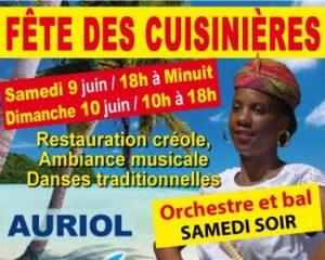 Week-end Antillais à Auriol les 9 et 10 juin